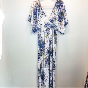 Lovestich | maxi dress floral print
